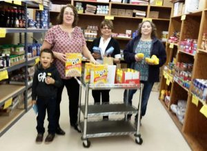 Beth Seibert at Spencerville Community Samaritans Food Pantry